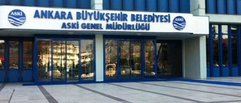 Ankara ASKİ çalışma saatleri
