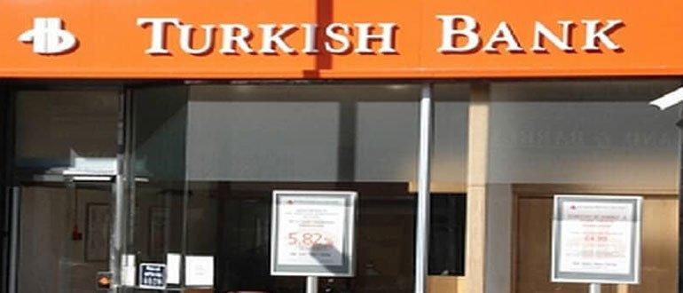 Turkish Bank çalışma saatleri