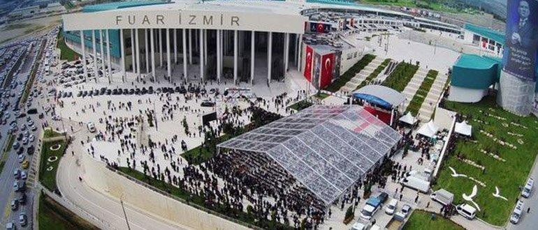 İzmir Enternasyonal Fuarı ziyaret saatleri