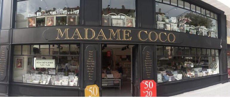 Madame Coco çalışma saatleri