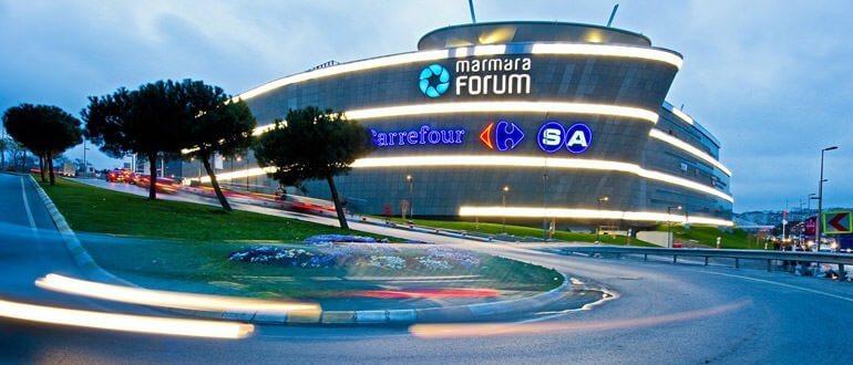 Marmara Forum çalışma saatleri